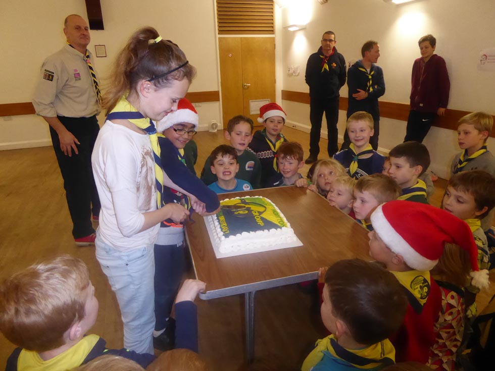1st Leek Wootton Scout Group celebrated its 10th birthday