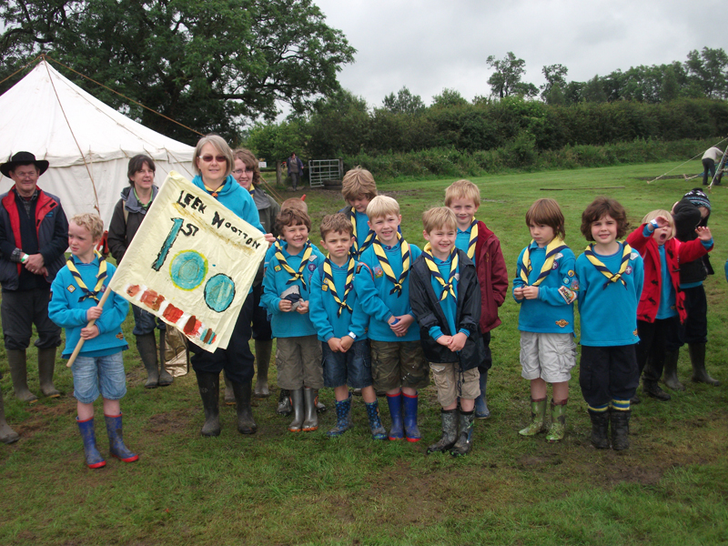 Leek Wootton Beavers Camp 2012