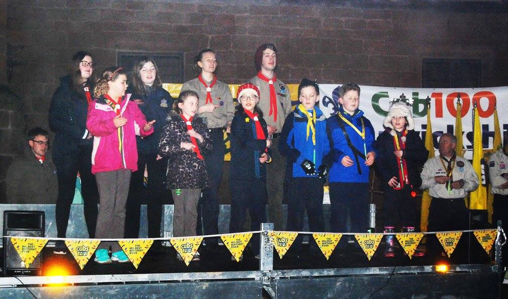 Cub Promise Party at Kenilworth Castle