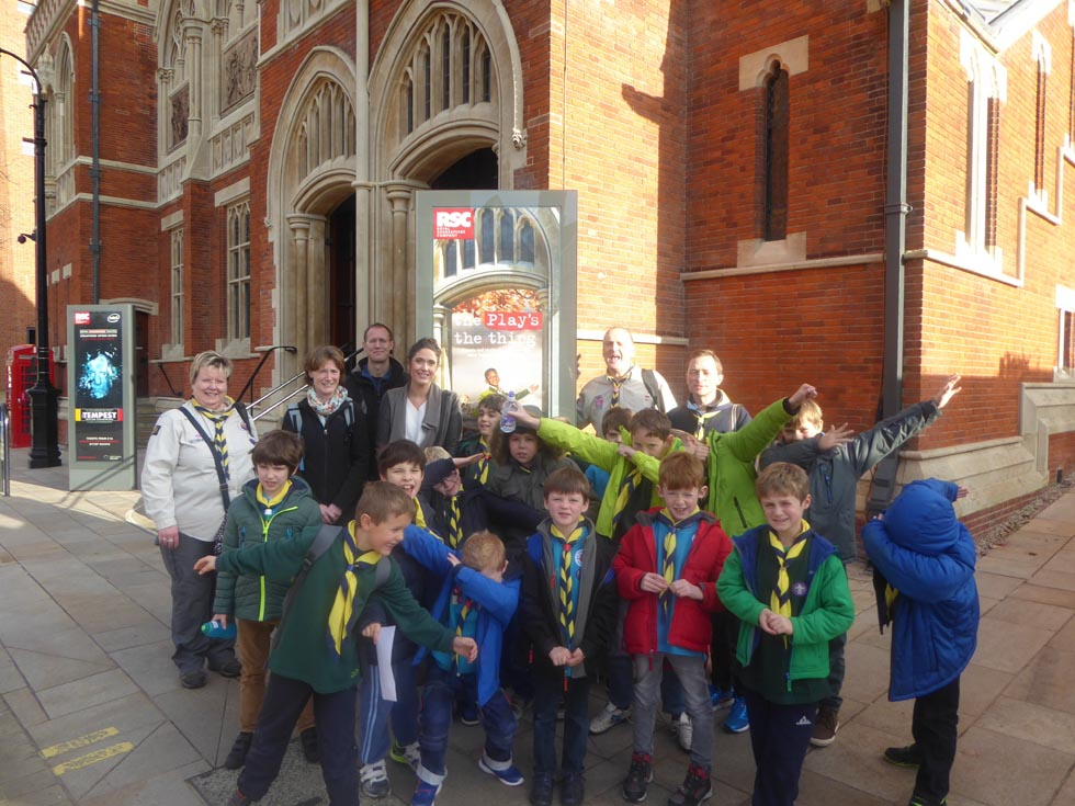 Leek Wootton Trip to Stratford 2016